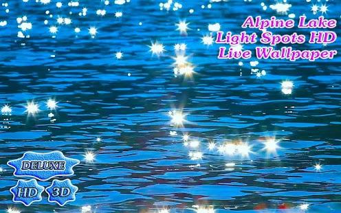 Alpine Lake Light Spots 3D - náhled