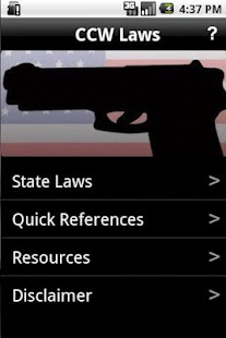 CCW Laws - Concealed Carry