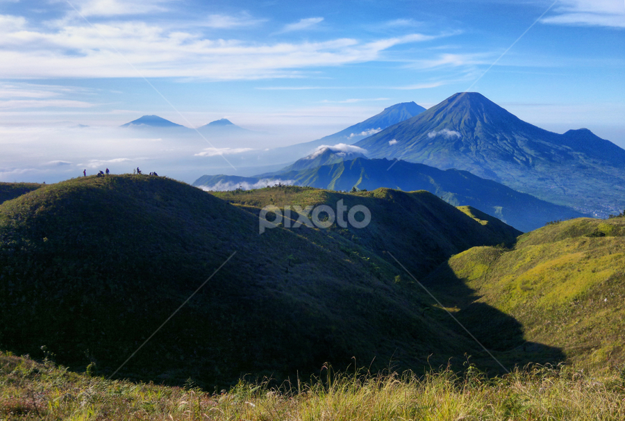 Sindoro Sumbing Mountain by Ngatmow Prawierow - Instagram & Mobile Other ( prau mountain, ngatmow, wonosobo, sindoro sumbing, zizigallery.com, banjarnegara, nokian8 )