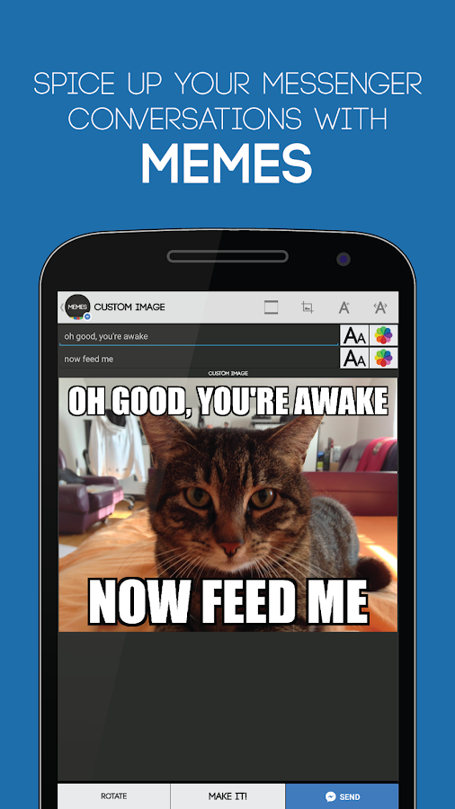Funny Meme Apps For Android : Memes for messenger android apps on google play