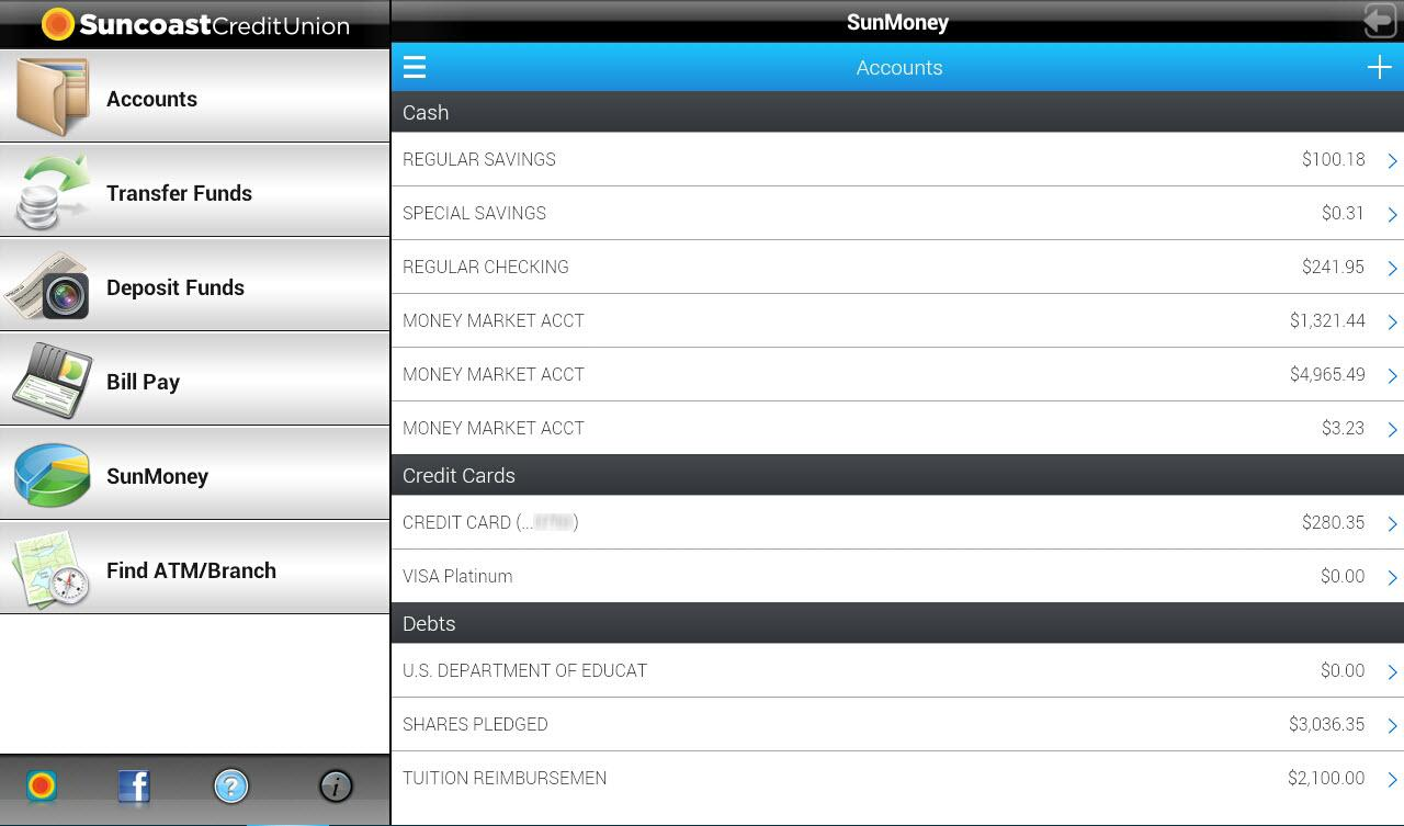 SunMobile for Tablet - screenshot