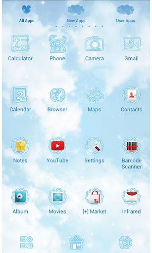 Cute Theme-Sky Above- 2.0.0 Windows u7528 2