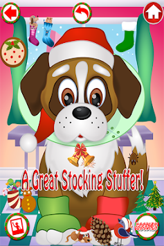 Christmas Pet Vet Doctor FREE apk screenshot
