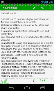 Natural Notes - screenshot thumbnail