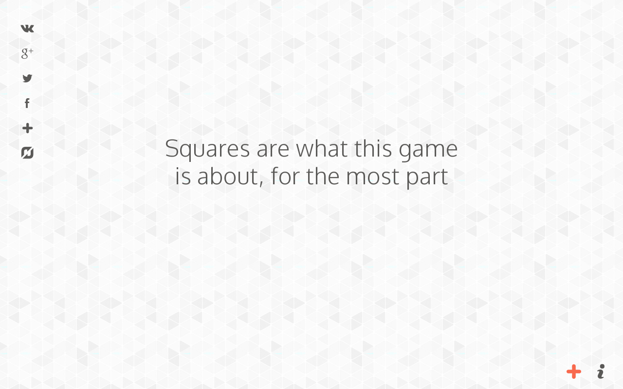 Game about Squares- screenshot