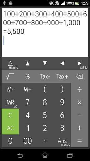 Calculator Screenshot
