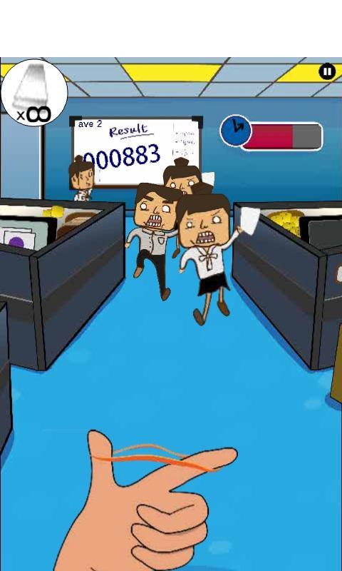 Angry Boss office fight - screenshot