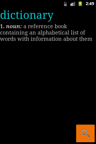 Dictionary Gratis- screenshot