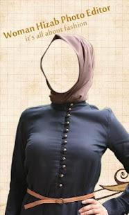 Woman Hizab Photo Editor - náhled