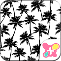Cute Theme-Summer Palms- icon