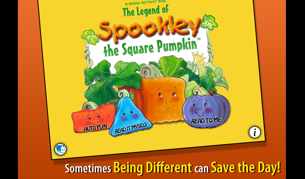 Spookley the Square Pumpkin- screenshot