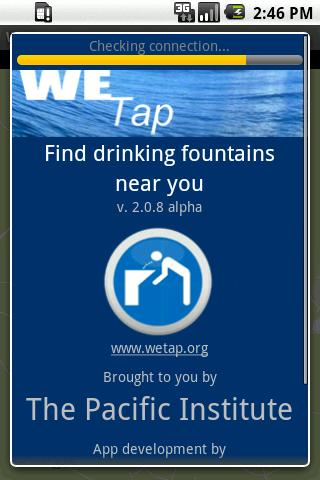 WeTap: find fountains near you - screenshot