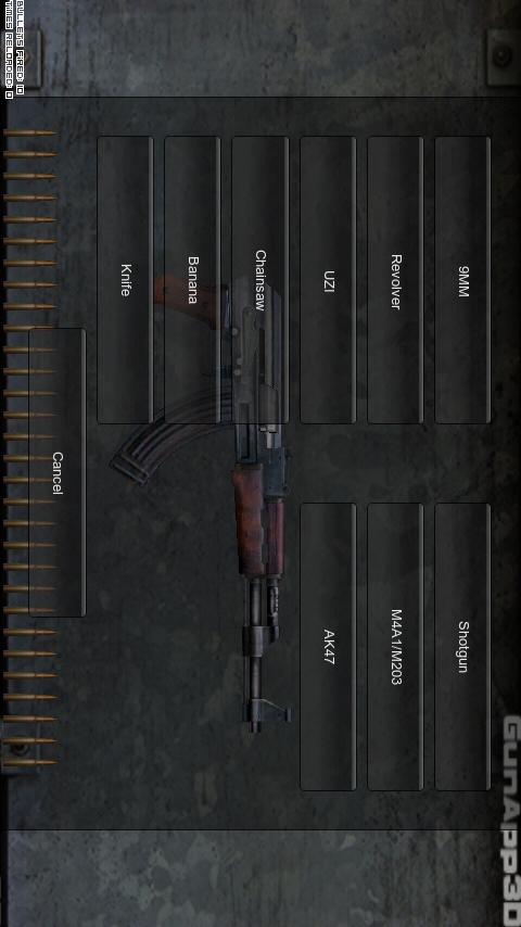 GunApp 3D FREE (The Original) - screenshot