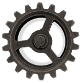 Steampunk Gears Live Wallpaper