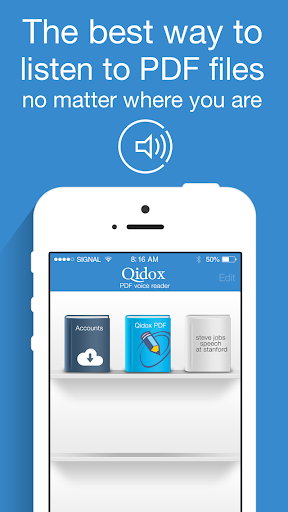 Qidox PDF Voice Reader