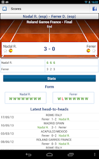 Livescore Football Tennis - screenshot thumbnail