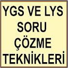 YGS LYS TEST ÇÖZME TEKNİKLERİ icon