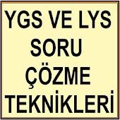 YGS LYS TEST ÇÖZME TEKNİKLERİ