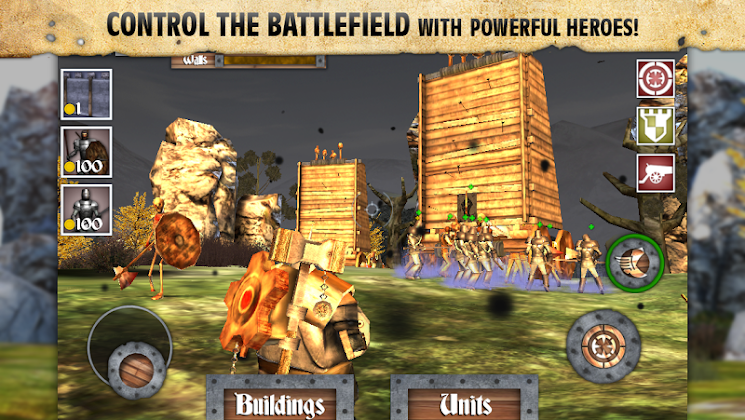 Heroes and Castles - screenshot