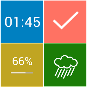 Tiles UCCW Theme on Google Play Reviews | Stats