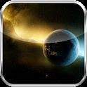 Compass Galaxy Theme HD LWP icon