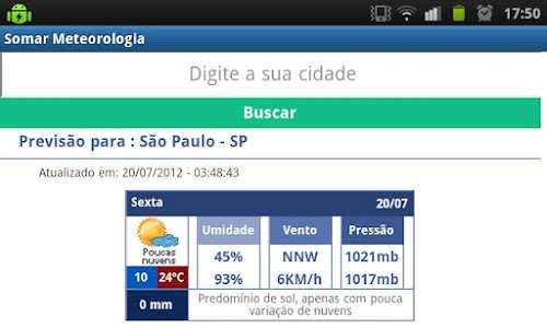 SOMAR Meteorologia screenshot 4