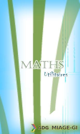 MathsUtilitaries