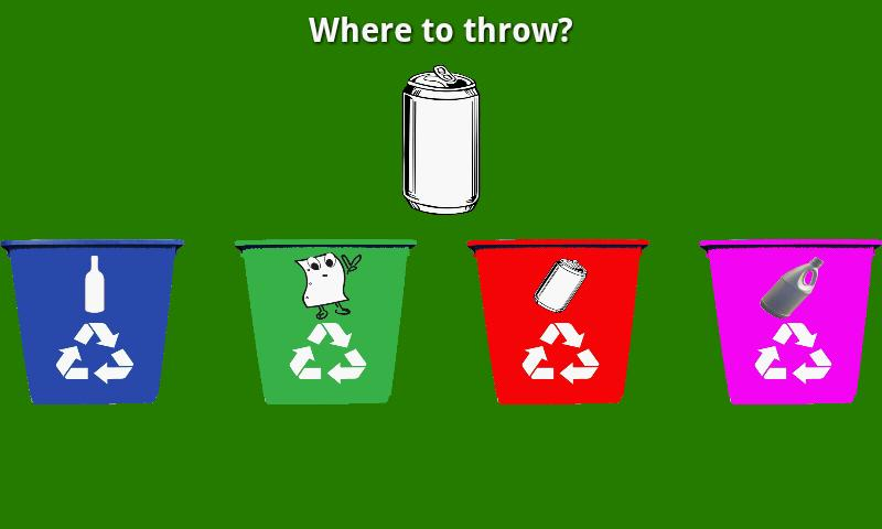 Educational Kids Recycling - screenshot