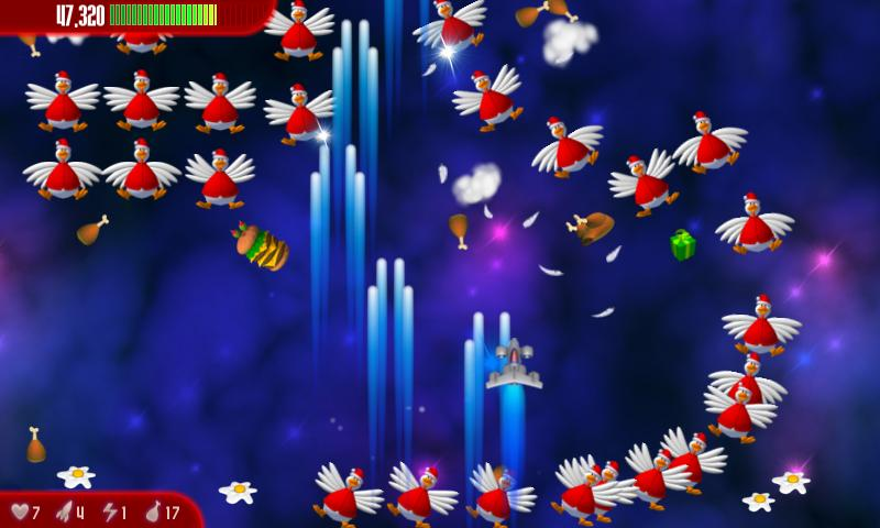 Chicken Invaders 3 Xmas- screenshot