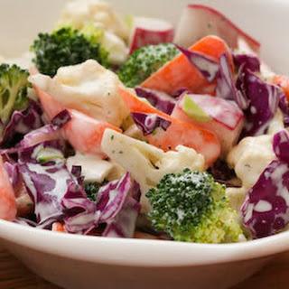 Crunchy Cruciferous Chopped Salad