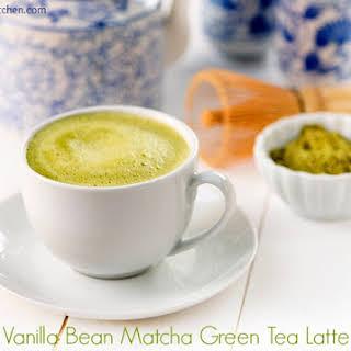Vanilla Matcha Green Tea Latte – and Silk Creamy Cashew Milk.