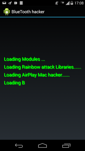 Bluetooth Phone Hacker PRANK