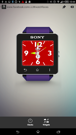 JJW Excite Watchface 4 for SW2