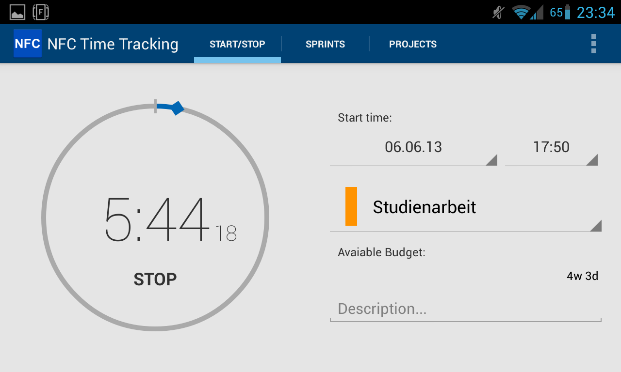 Nfc Time Tracking Android Apps On Google Play