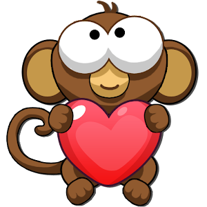 Bubble Monkey Valentine's Day! for PC and MAC