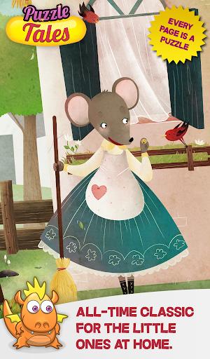 Fussy Little Mouse Puzzle Tale
