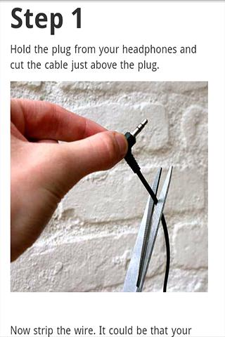 Fix Broken Headphones FREE