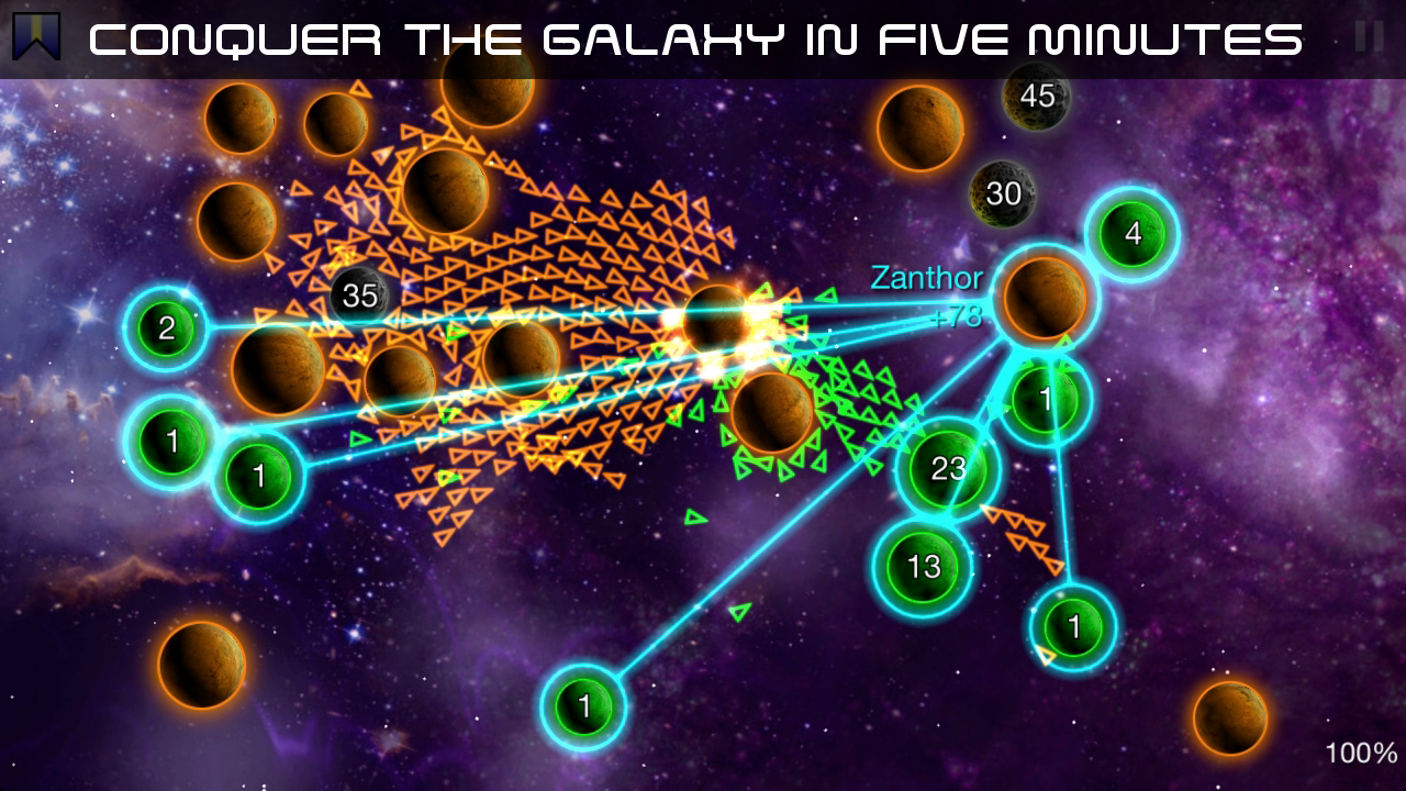 Galcon Legends- screenshot