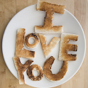 I love you food Live Wallpaper icon