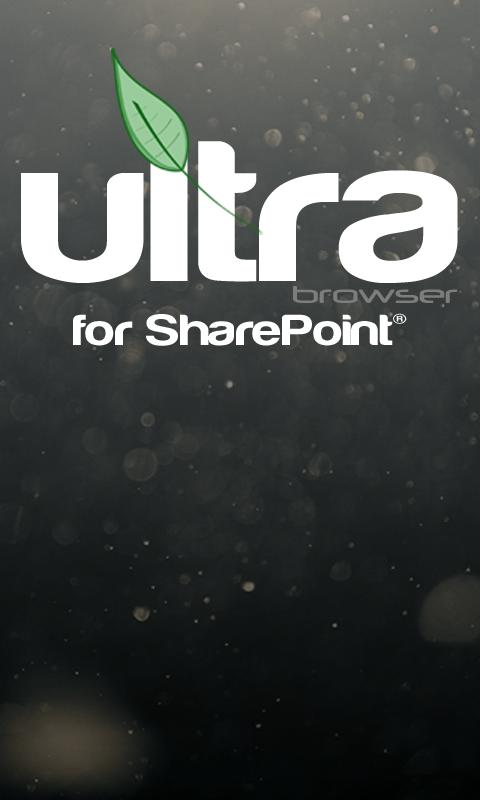 Ultra Browser For SharePoint - screenshot