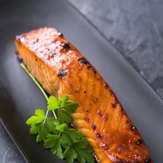 Hoisin Glazed Baked Salmon