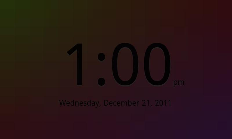 Smooth Clock- screenshot