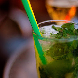 Cognac Julep Cocktail.