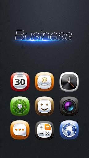 Business Hola Launcher テーマ