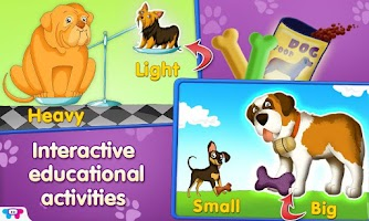 Screenshot of Opposites Adventure