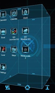 Ray Next Launcher 3D Theme- screenshot thumbnail