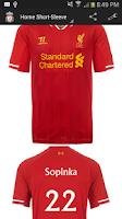 Screenshot of Liverpool Jersey Creator