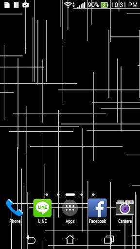 Tech lines live wallpaper