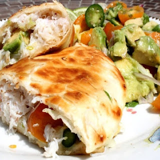 Crab and Avocado Quesadilla