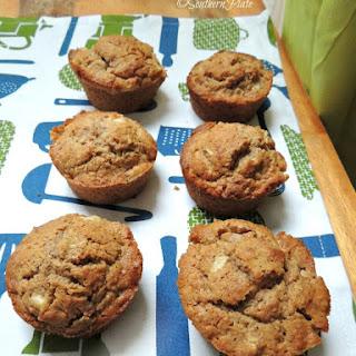Quick 'N Tasty Apple Bran Muffins.
